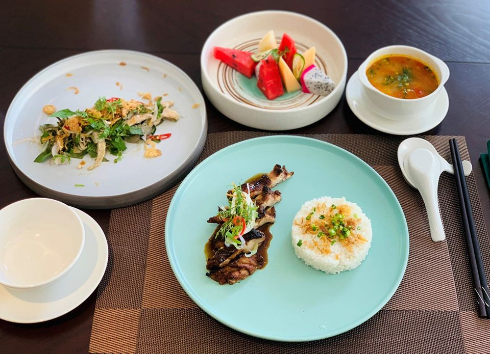 ENJOY SET LUNCH JUST FROM VND 200,000++