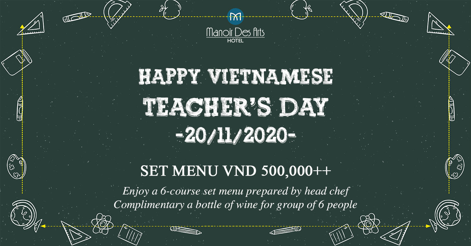 HAPPY VIETNAMESE TEACHER'S DAY 2020
