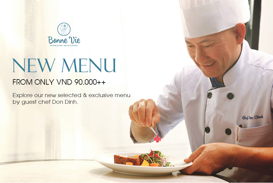 NEW MENU FROM ONLY VND 90,000++